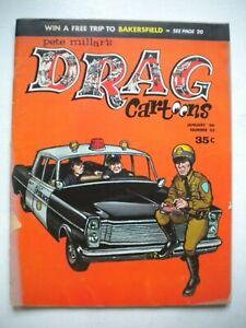 DRAG CARTOONS #23   (1966)