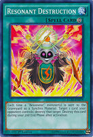 Resonator Destruction Spell Common Yugioh Card LC5D-EN079