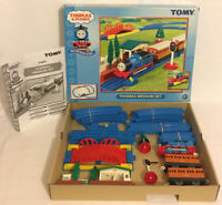 TOMY Thomas & Friends Motor Road And Rail Medium Set 7401 Complete + Extra Track