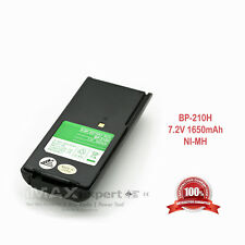 1650mAh NiMh BP-209 BP-210 Battery for ICOM IC-F3GS F4GS IC-F30GT/GS IC-F40GT/GS
