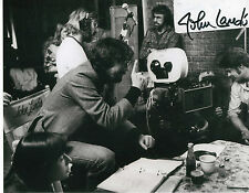 "JOHN LANDIS DIRECTOR ANIMAL HOUSE SIGNED 8""x10"" PHOTO W/ COA BLUES BROTHERS"