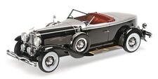 Minichamps 1/18 1929 Duesenberg Model J Torpedo Convertible Coupe 107150431 Blk