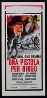 locandina UNA PISTOLA PER RINGO giuliano gemma western django sartana film L118