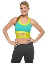 Abbigliamento sportivo da donna blu di alta visibilità