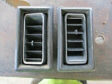81-93 DODGE RAM PICKUP TRUCK RAMCHARGER RIGHT A/C DASH VENTS OEM PAIR NIICE
