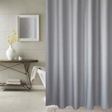 Thick Waterproof Window Shower Curtain Bath Bathroom Home Hotel 200GSM +12 Hooks