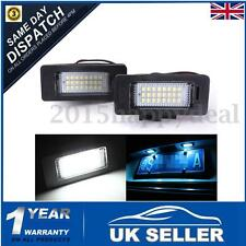 2x LED License Number Plate Light Lamp For Audi A4 S4 B8 A5 S5 Q5 TT VW PASSAT