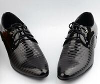Mens Tuxedo Formal Shoes Cap Toe Lace Up Oxfords Mens Dress Tuxedo Formal Shoes
