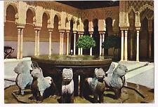 Ansichtskarte Lions Courtyard, Alhambra, Granada, Spanien