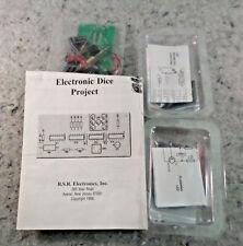 3 Electronics Learning Kits LED sount to light,Flashing LED,Electronic Dice New