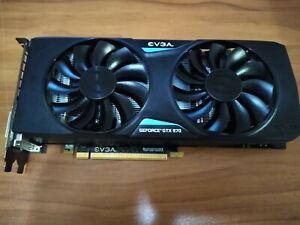 EVGA Nvidia GeForce GTX 970 4GB GPU VRAM Graphics Card PC Gaming Used