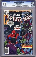 AMAZING SPIDER-MAN #180 CGC 9.8   OW WHITE PAGES  GREEN GOBLIN APPEARANCE