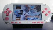 White Sony PSP 1001 System w/16GB Memory Card Lot(Tested Works)(MicroSD/SD ONLY)