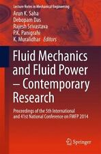 Fluid Mechanics and Fluid Power - Contemporary Research : Proceedings of the ...