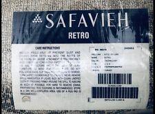 Safavieh Retro 6' X 9' Power Loomed Rug in Cream and Gray
