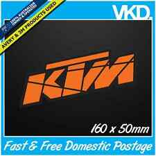 KTM Sticker/ Decal - MOTOCROSS LKI Vinyl 4x4 UTE AUS MX Bike Dirt Racing Monster