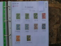 BECHUANALAND PRE DECIMAL KING GEORGE  10 STAMPS USED