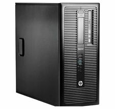 HP 800 G1 MT Tower PC Intel Core i7 4790 3.60Ghz 16GB 256GB SSD Windows 10 Pro