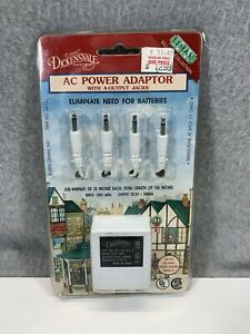 New Lemax Dickensvale 3 Volt AC Power Adapter with 4 Outlet Jacks BNIB