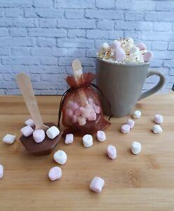 Hot chocolate stirrers/sticks/spoons-secret santa/stocking filler/Christmas eve