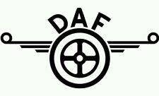 DAF HGV Truck  sticker decals for glass - bodywork - deco