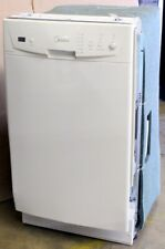 """New listing Midea 18"""" 8 Place Setting Built In Dishwasher White M18Db9339Ww3A_R"""