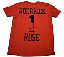 bbbbe448181 adidas NBA Youth Chicago Bulls Derrick Rose Shirt New S (8)