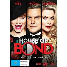 HOUSE OF BOND-DVD-Adrienne Pickering-Region 4-New AND Sealed