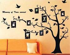 DIY Home Family Decor Black Tree Removable Decal Room Wall Sticker Vinyl Art AC