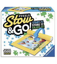 Puzzle Stow & Go Mat [Holds 1500 pieces] Ravensburg 46X26 Same-Day Free Shipping