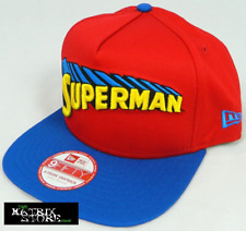 NEW ERA DC COMICS REVERSE CLASSIC 9FIFTY A FRAME SNAPBACK CAP - SUPERMAN