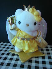 2002 Sanrio Japan Authentic  Hello Kitty goddess angel star Doll Plush NEW 7""