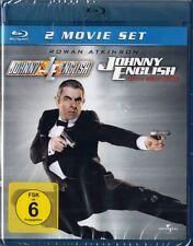 JOHNNY ENGLISH + JOHNNY ENGLISH, JETZT ERST RECHT (2 Blu-ray Discs) NEU+OVP