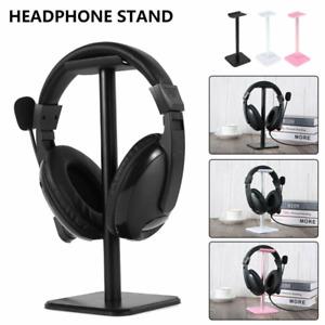 Universal Headset Earphone Holder Aluminum Gaming Headphone Display Stand UK