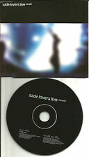 SADE Flow LIVE EUROPE Made PROMO DJ CD Single 2002 USA SELLER MINT