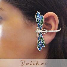JoliKo Ohrklemme Ohrschmuck Ear cuff Elfen Fee Ohrringe Libelle Dragonfly RECHTS