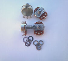 A500K long pot set of four for Gibson Les Paul guitar 500K log potentiometers