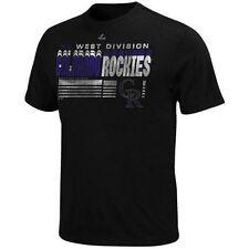 Colorado Rockies Majestic Capacity T-Shirt Shirt Men's Size M NWT