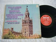 CATHERINE MICHEL , DE ALMEIDA -Works For Harp 1974 Philips Italy Import  Mint