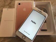 Apple iPhone 7 - 256GB - Rose Gold UNLOCKED READ DESCRIPTION