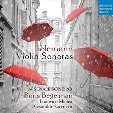 Boris Begelman - Telemann: Violin Sonatas [New CD] UK - Import