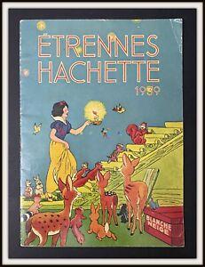 ⭐ Snow White Mickey Mouse HACHETTE BOOKS CATALOGUE Disney 1939 - DISNEYANA.IT ⭐
