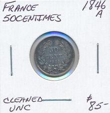 FRANCE 50 CENTIMES 1846a - UNC