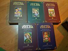 The Legend of Zelda Legendary Edition (vol 1- 5) Eng Manga Graphic Novel NEW