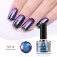 BORN PRETTY 16 Colors Chameleon Magic Nail Polish Glitter Sequins Varnish Blue