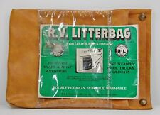 Vintage Vinyl R.V. Storage Litter Bag Granny Auto Truck Accessories H&L Products