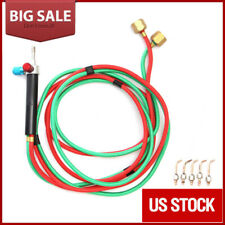 Jewelry Micro Mini Gas Little Torch Jewelers Welding Soldering Kit w/5 tips Hose