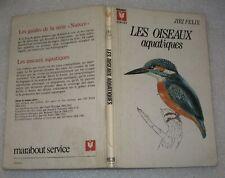 Les oiseaux aquatiques de Jiri Félix