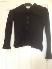 Girls Black Cardigan With Collar Girls Limited From Marks And Spencer Age7-8