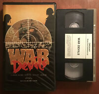 War Devils (VHS, 1969) Clamshell ~ Italian War Movie ~WWII ~ RARE ~ OOP ~ HTF